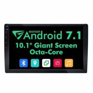 "GA2168 eonon double din 10.1"" android car monitor"