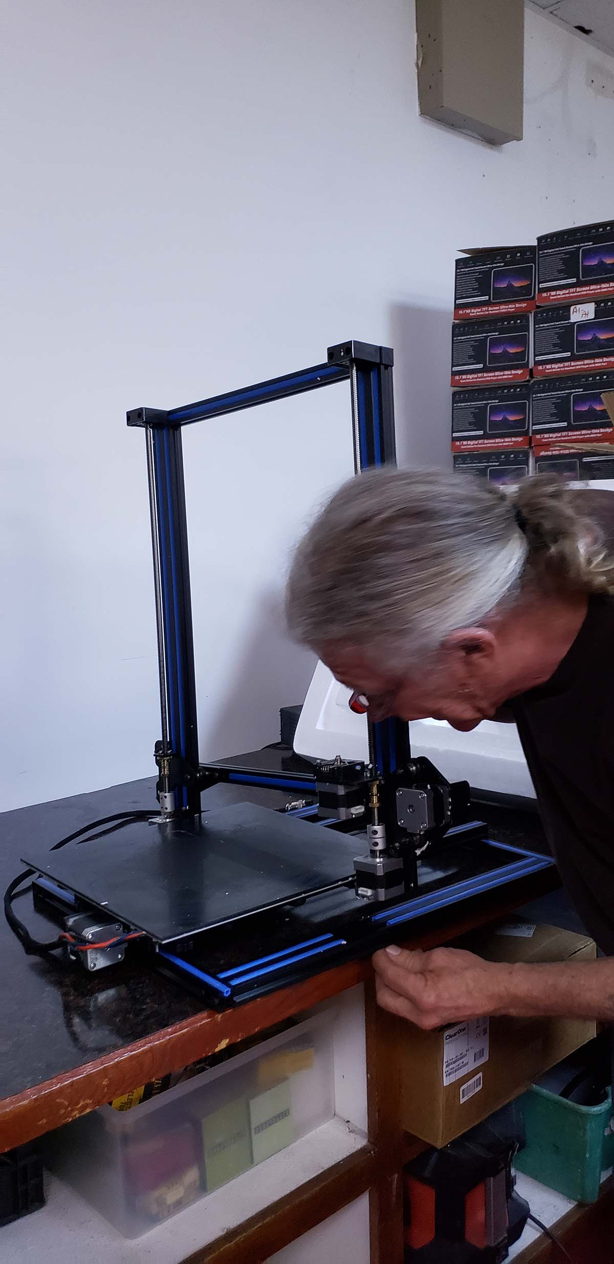 back-track 3d printer repair