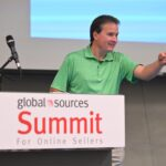 brandon dupsky at global sources summit